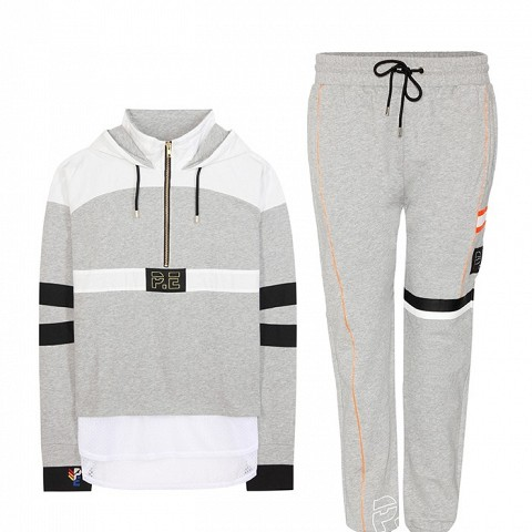 Number 1 Cotton Jersey Hoodie