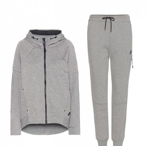 Nike Tech Fleece Cotton-Blend Jacket