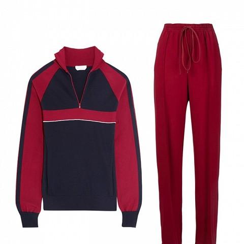 Silk-Blend Jersey Sweater