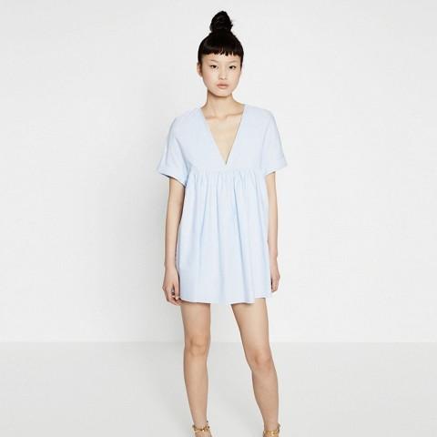 Low-Cut Jumpsuit Dress