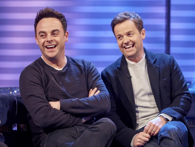 Ant and Dec 2016