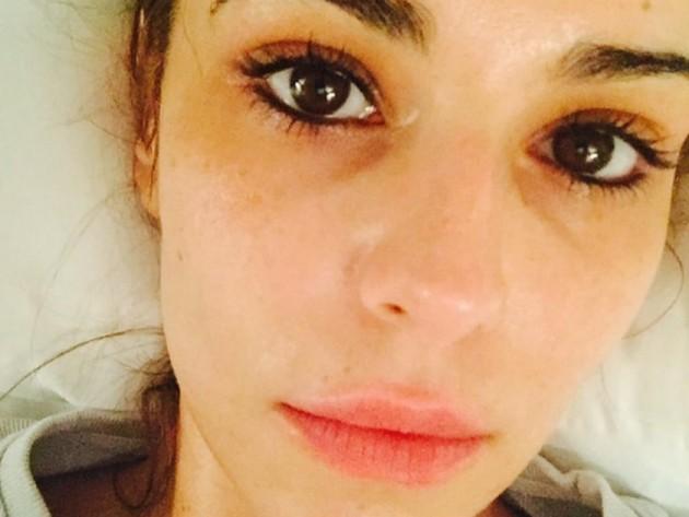 Stars without make up: Cheryl