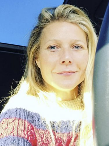 Stars without make up: Gwyneth Paltrow