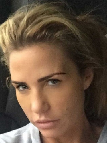 Stars without make up: Katie Price