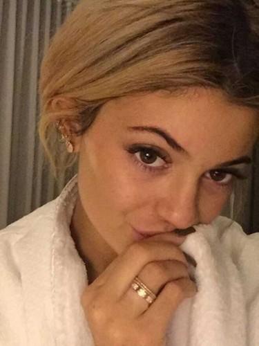 Stars without make up: Kylie Jenner