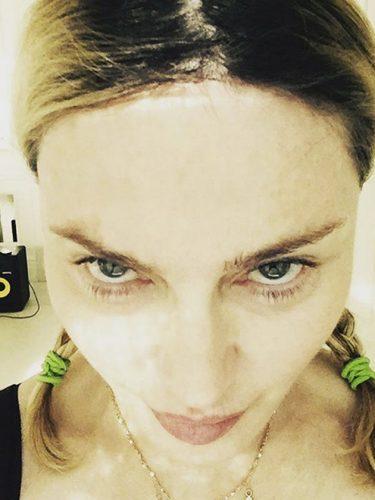 Stars without make up: Madonna