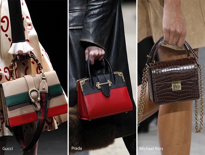 983a1c9b8612 ... handbags at Louis Vuitton. Fall  Winter 2016-2017 Handbag Trends  Bags  with Top Handles