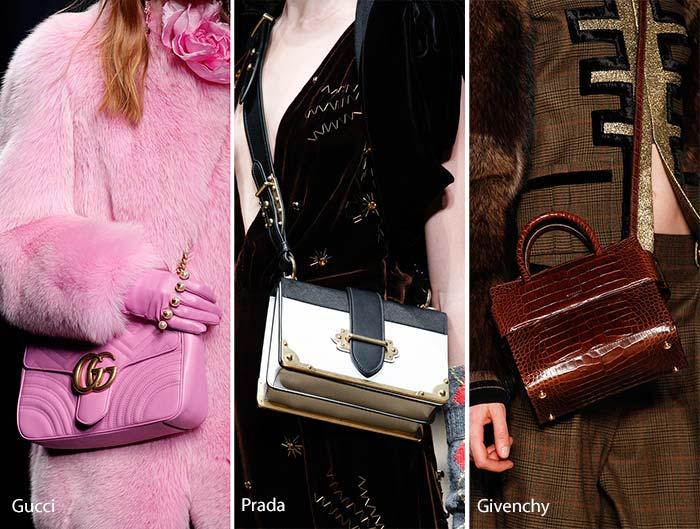 Fall Winter 2017 Handbag Trends Cross Body Bags
