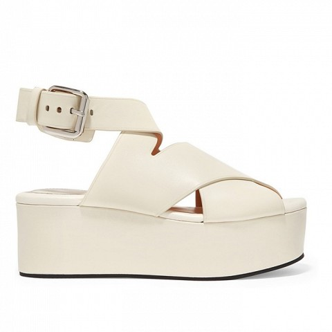 Rudy Leather Platform Sandals