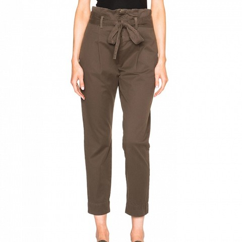 Skinny Paper Bag Trousers
