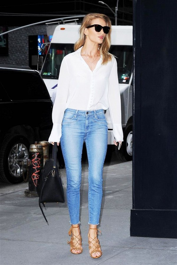 The Most Popular Shoes Celebrities Wear With Skinny Jeans ...