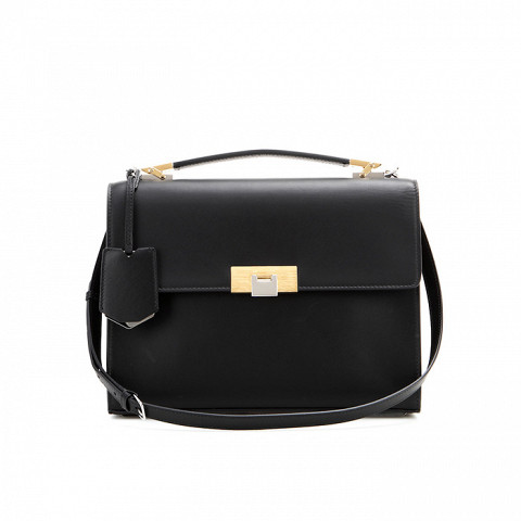 Le Dix Cartable S Leather Shoulder Bag