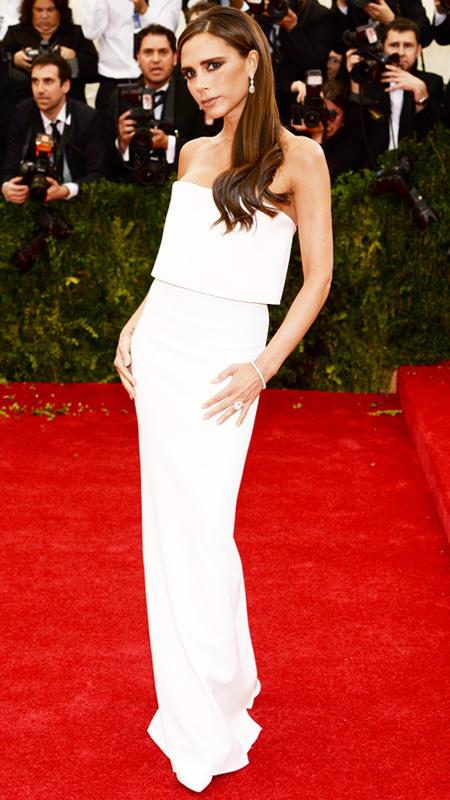 """Victoria Beckham attends the """"Charles James: Beyond Fashion"""" Costume Institute Gala at the Metropolitan Museum of Art"""