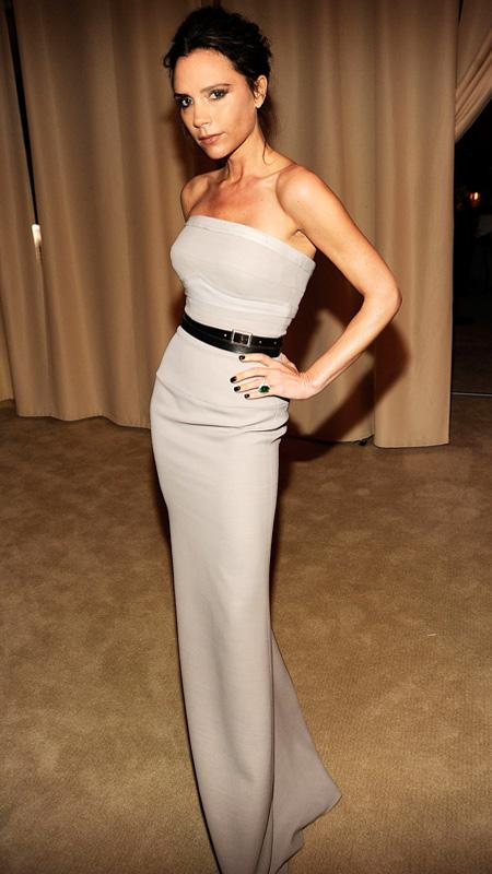 Victoria Beckham attends the 2012 Vanity Fair Oscar Party