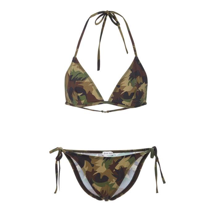 Tomas Maier Camo String Bikini