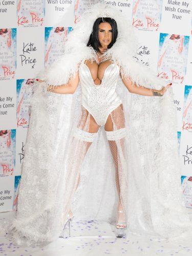 Katie Price the angel…