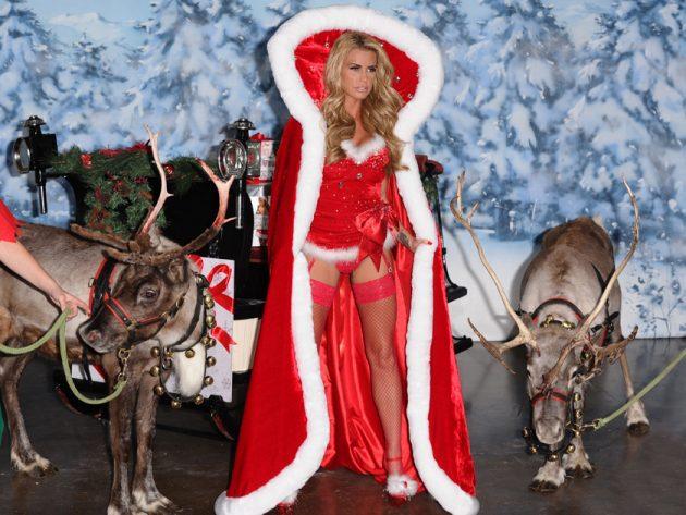 8. Katie the sexy Santa…