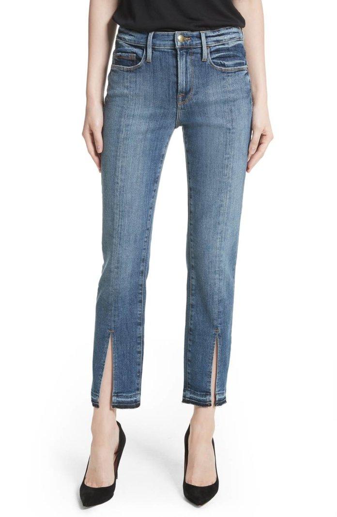 Frame Le Nouveau Split Hem Jeans