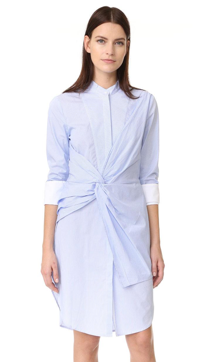 Rowe Stripe Shirtdress