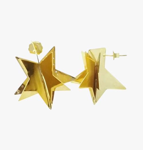 Anmi Boucles d'oreilles étoiles 3D