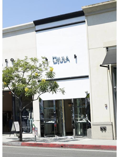 La boutique Djula à Los Angeles