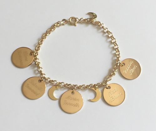 The Marceline Bracelet médailles à personnaliser