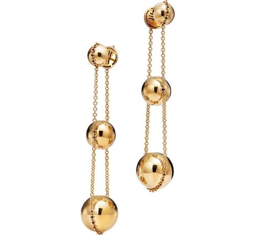 ed11a3c08 Yellow gold triple Ball earrings, Tiffany City HardWear, Tiffany & Co.,  3100 €.